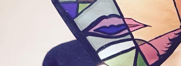 La artista en mi espejo. Metralla creativa. Cultura palpitante. Alexis HB